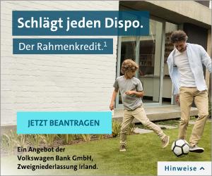Rahmenkredit der VW-Bank