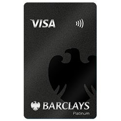 Barclaycard Platinum Kreditkarten-Doppel